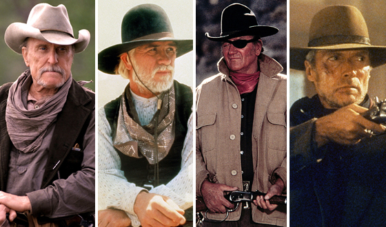 The Greatest Westerns of the Greatest Onscreen Cowboys Like Duvall, the Duke, Etc.