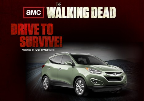 Hyundai in The Walking Dead 1 - Hyundai Tucson in The Walking Dead