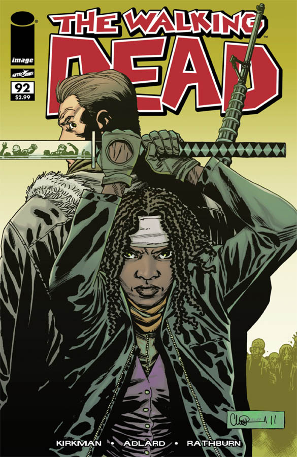 Issue 92 – The Walking Dead – Sneak Peek