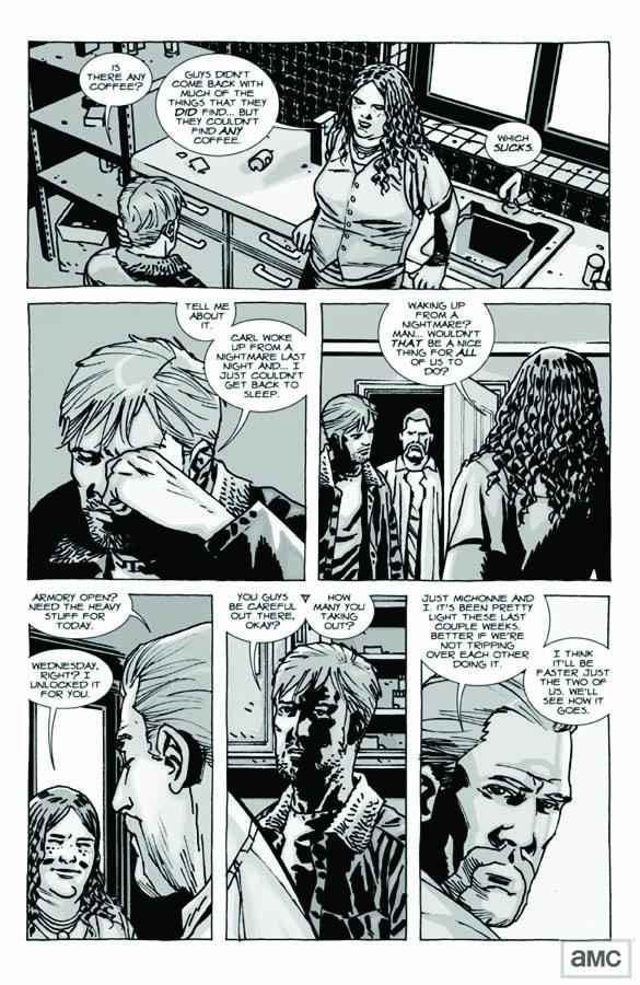 Issue 92 - The Walking Dead - Sneak Peek 5 - Issue 92 - The Walking Dead - Sneak Peek