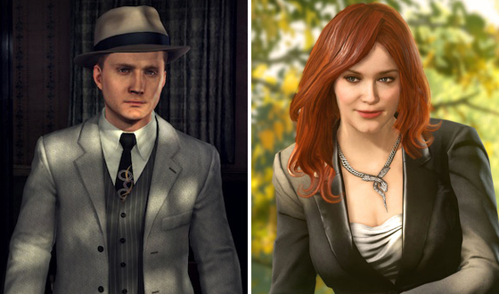 Hendricks in Leather. Staton as a Gumshoe. Five Video Games Starring <em>Mad Men</em> Actors