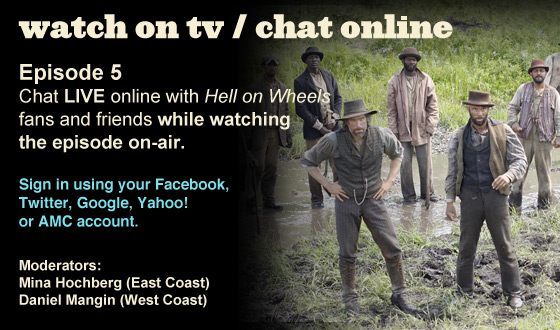 Chat Online While Watching Episode 5 on TV This Sunday Night