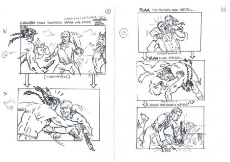 Hell on Wheels Indian Massacre Storyboards 5 - Hell on Wheels Indian Massacre Storyboards