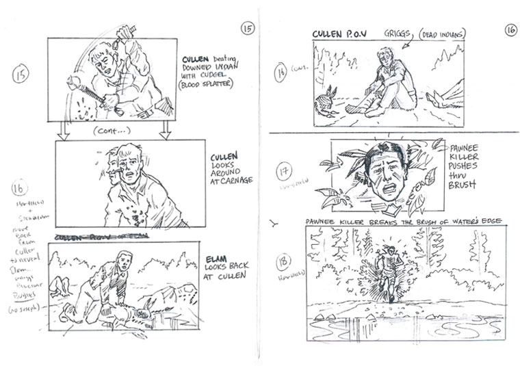 Hell on Wheels Indian Massacre Storyboards 7 - Hell on Wheels Indian Massacre Storyboards