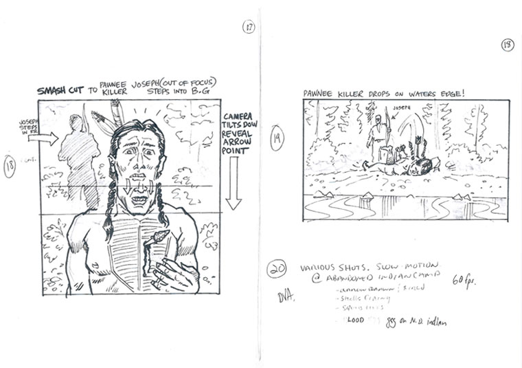 Hell on Wheels Indian Massacre Storyboards 8 - Hell on Wheels Indian Massacre Storyboards