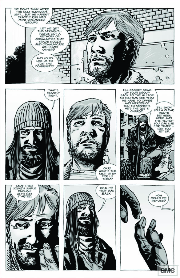 Issue 93 - The Walking Dead - Sneak Peek 2 - Issue 93 - The Walking Dead - Sneak Peek