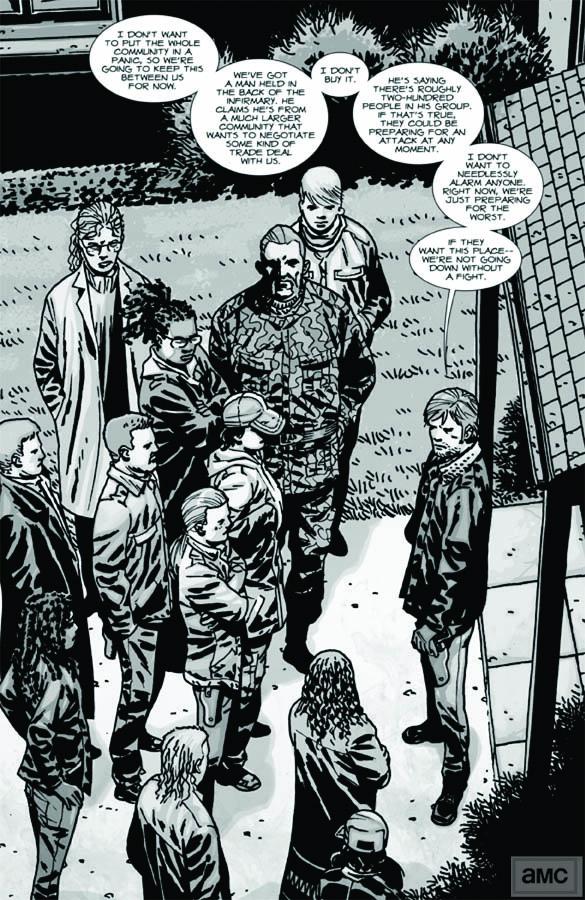 Issue 93 - The Walking Dead - Sneak Peek 5 - Issue 93 - The Walking Dead - Sneak Peek