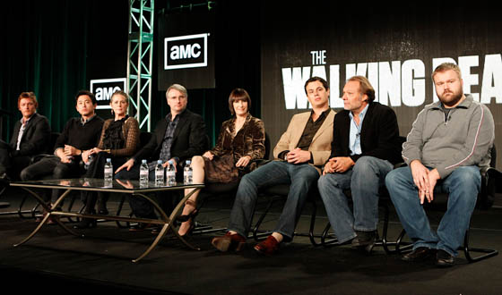 Photos From <em>The Walking Dead</em> Winter TCA Panel 2012