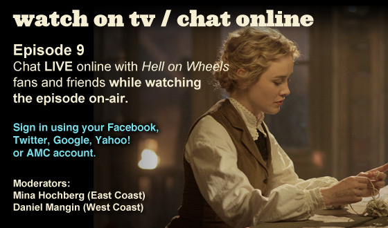 Chat Online While Watching Episode 9 on TV This Sunday Night