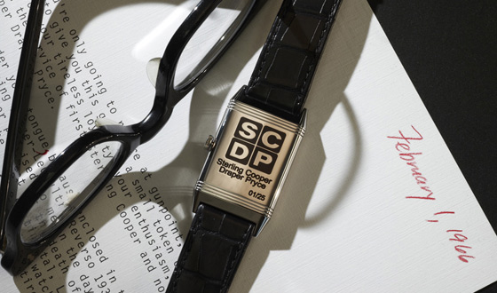 Jaeger-LeCoultre Introduces <em>Mad Men</em> Themed Reverso Watch