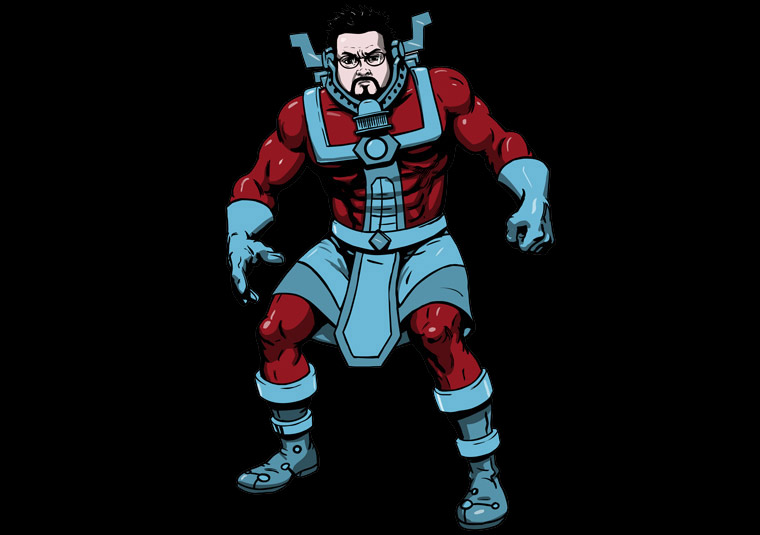 Comic Book Men Cast as Comic Characters 1 – Comic Book Men Cast as Comic Characters