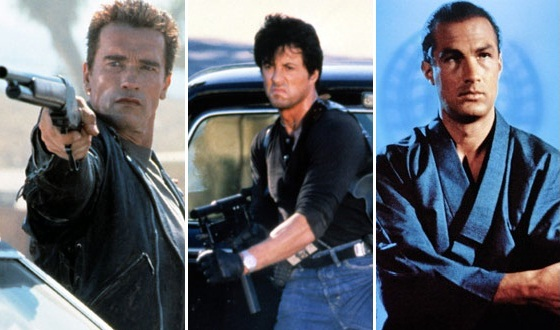 Stallone, Schwarzenegger, Seagal – Who's the Greatest Action Hero of Our Times?