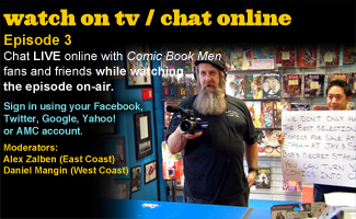 Chat Online While Watching Episode 3 of <em>Comic Book Men</em> This Sunday Night