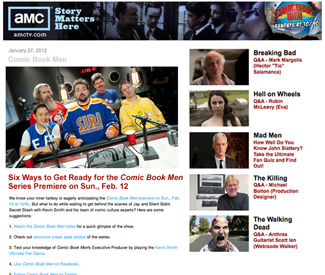 AMC Newsletter Delivers the Latest Info on <em>Comic Book Men</em> Every Week