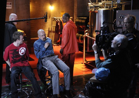 Breaking Bad Season 4 Behind the Scenes Photos 2 - Breaking Bad Season 4 Behind the Scenes Photos