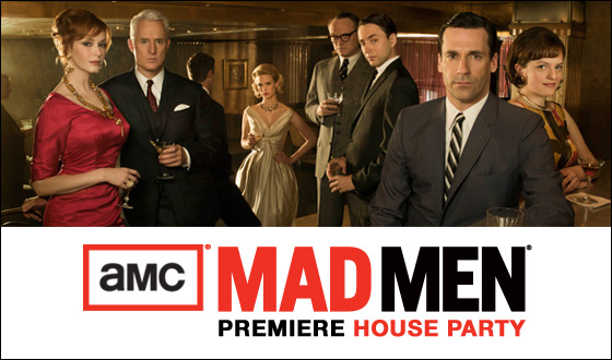 Apply Now for a Chance to Host an Official <em>Mad Men</em> Premiere House Party
