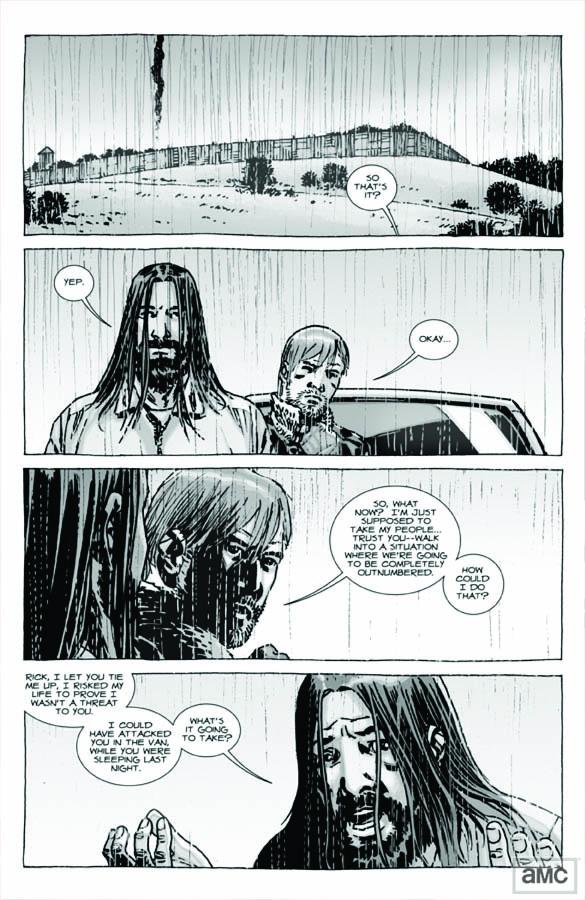 Issue 95 - The Walking Dead - Sneak Peek 2 - Issue 95 - The Walking Dead - Sneak Peek