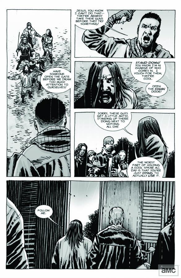 Issue 95 - The Walking Dead - Sneak Peek 8 - Issue 95 - The Walking Dead - Sneak Peek