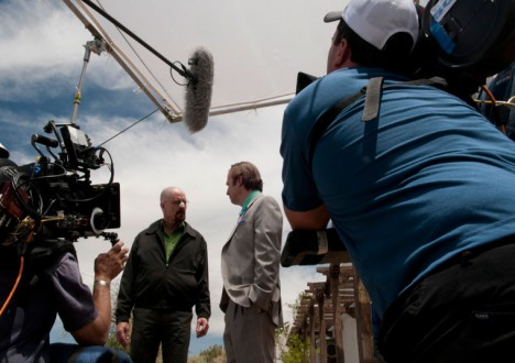 Breaking Bad Season 4 Behind the Scenes Photos 28 - Breaking Bad Season 4 Behind the Scenes Photos