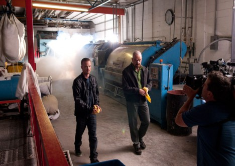 Breaking Bad Season 4 Behind the Scenes Photos 31 - Breaking Bad Season 4 Behind the Scenes Photos