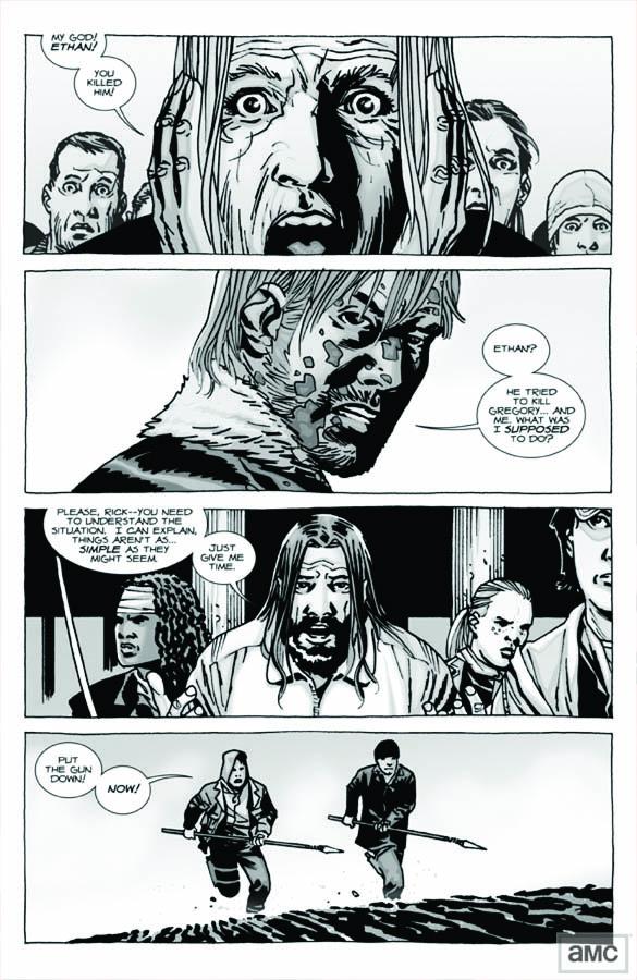Issue 96 - The Walking Dead - Sneak Peek 2 - Issue 96 - The Walking Dead - Sneak Peek