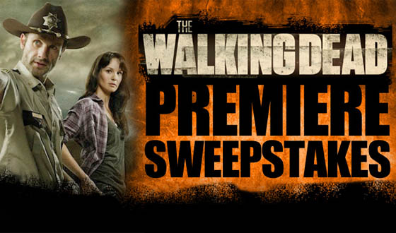 Win a Trip for Two to <em>The Walking Dead</em> Premiere and a Personalized Zombie Bust