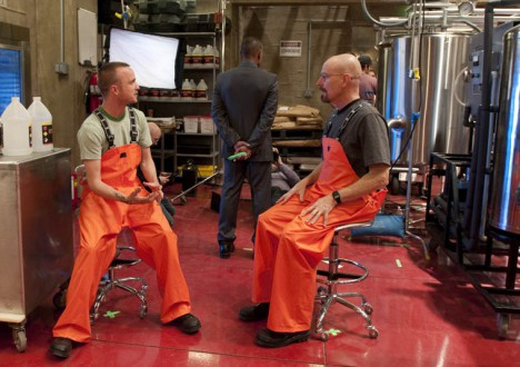 The Making of the Breaking Bad Season 4 Cast Photos 1 - The Making of the Breaking Bad Season 4 Cast Photos