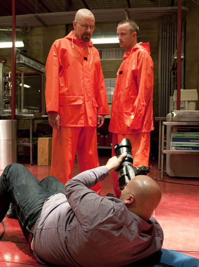 The Making of the Breaking Bad Season 4 Cast Photos 5 - The Making of the Breaking Bad Season 4 Cast Photos