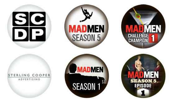 You Think You&#8217;re the Ultimate <em>Mad Men</em> Fan&#8230; Which Badges Have You Earned?