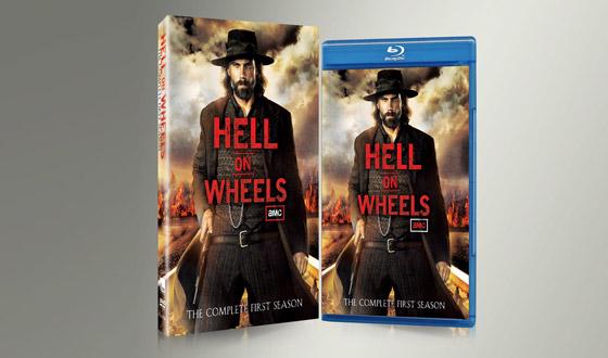 <em>Hell on Wheels</em> Season 1 DVD/Blu-ray Sets Now on Sale