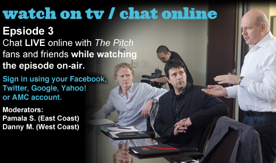 Chat Online About <em>The Pitch</em> Episode 3 on Monday Night