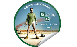 GetGlue Counts Down to the <em>Breaking Bad</em> Season 5 Premiere With Exclusive Stickers