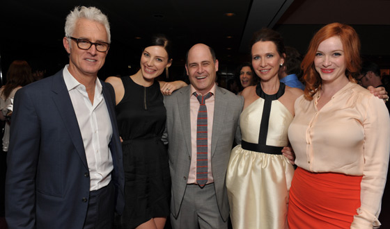 Photos &#8211; <em>Mad Men</em> Cast at 2012 ATAS Screening and Panel Discussion