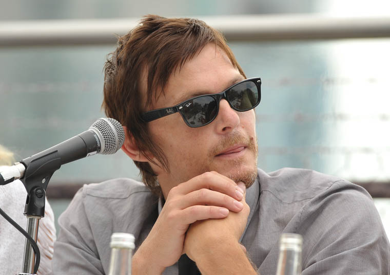 Norman Reedus (Daryl Dixon) at Comic-Con 2012