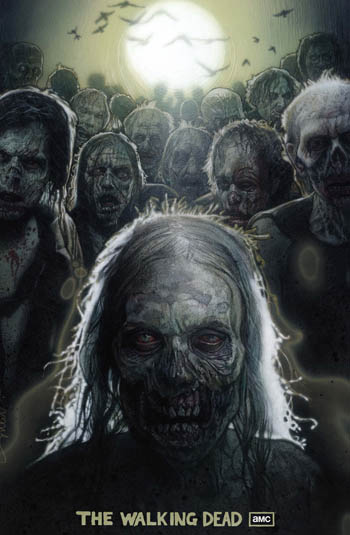 Season 1 Poster by Drew Struzan for The Walking Dead