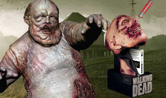 <em>The Walking Dead</em> Expands Presence at Comic-Con 2012 With Licensed Merchandise