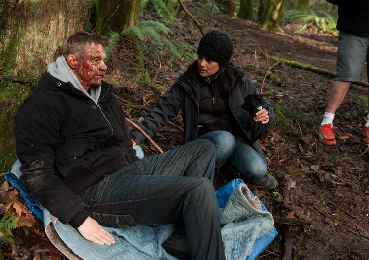 The Killing - Season 2 Behind the Scenes Photos 9 - The Killing Season 2 Behind the Scenes Photos