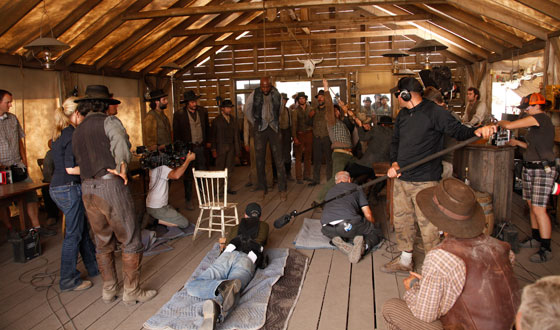 Ten More Behind the Scenes Photos of <em>Hell on Wheels</em>
