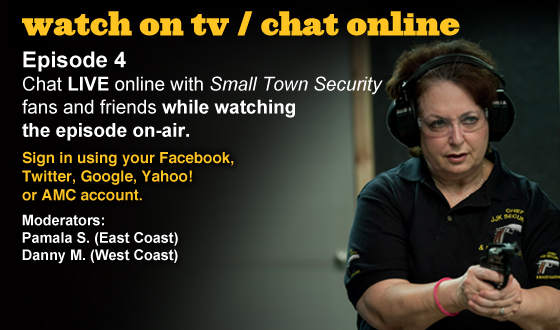 Chat Online About <em>Small Town Security</em> Episode 4 This Sunday Night