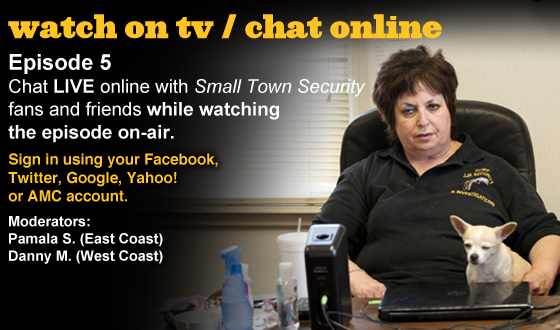 Chat Online About <em>Small Town Security</em> Episode 5 This Sunday Night