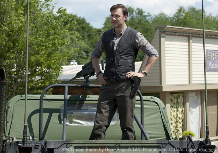 The Governor (David Morrissey) in Season 3 of The Walking Dead