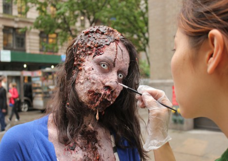 Zombie Experiment NYC - Behind the Scenes Photos 1 - Zombie Experiment NYC - Behind the Scenes Photos