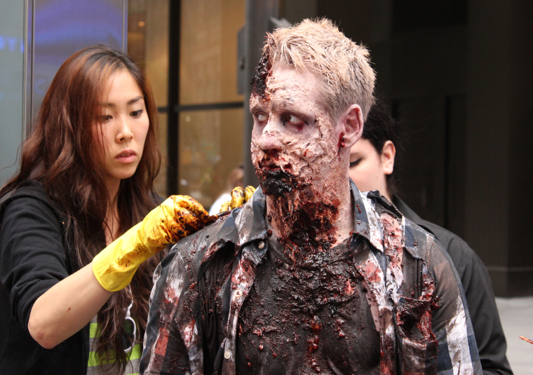 Zombie Experiment NYC - Behind the Scenes Photos 9 - Zombie Experiment NYC - Behind the Scenes Photos