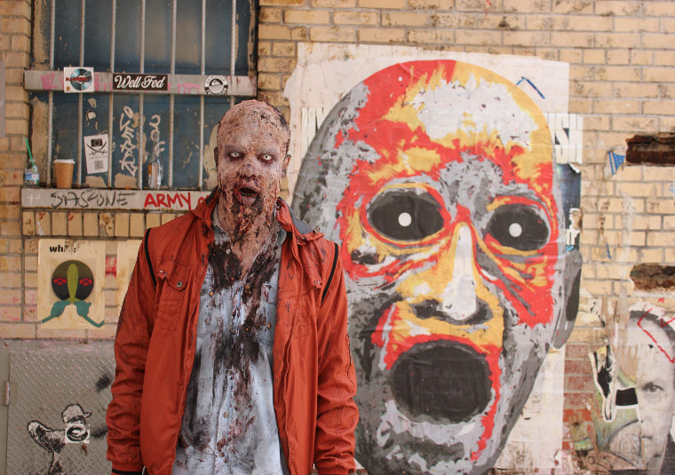 Zombie Experiment NYC - Behind the Scenes Photos 6 - Zombie Experiment NYC - Behind the Scenes Photos
