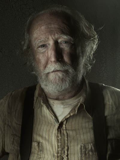 Hershel Greene (Scott Wilson) of The Walking Dead