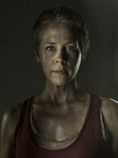 Carol Peletier (Melissa McBride) of The Walking Dead