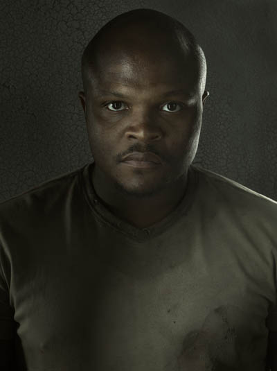 T-Dog (IronE Singleton) of The Walking Dead
