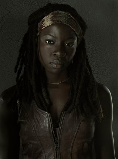 Michonne (Danai Gurira) of The Walking Dead