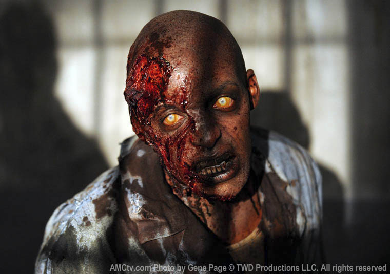 Walker in Episode 1 of The Walking Dead
