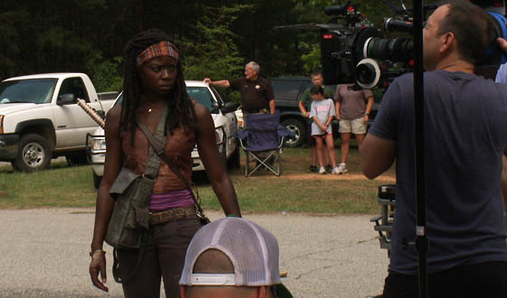 Video &#8211; <em>The Walking Dead</em>&#8216;s Danai Gurira on Training to Become Michonne